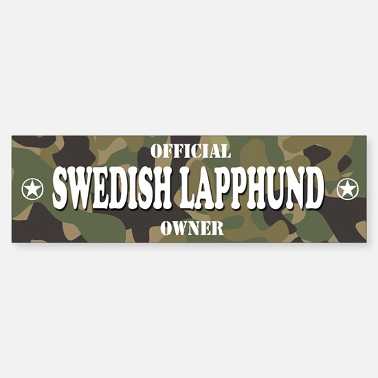 SWEDISH LAPPHUND Bumper Bumper Bumper Sticker