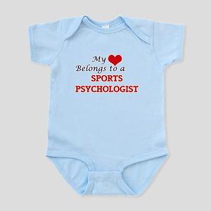 My heart belongs to a Sports Psychologis Body Suit