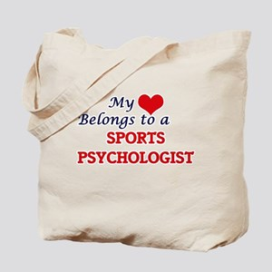 My heart belongs to a Sports Psychologist Tote Bag