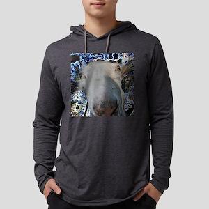 Goat design for caprine fans Mens Hooded Shirt
