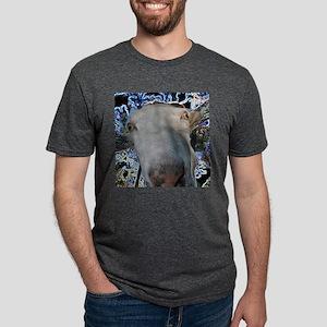 Goat design for caprine fans Mens Tri-blend T-Shir