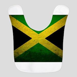 Jamaica Me Love Polyester Baby Bib