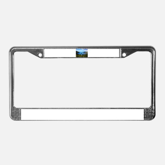 Emerald Island License Plate Frame