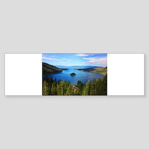 Emerald Island Bumper Sticker