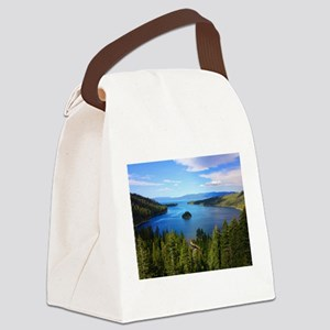 Emerald Island Canvas Lunch Bag