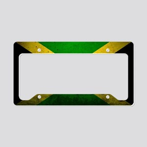 Jamaica Me Love License Plate Holder