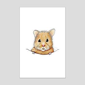 Pocket Hamster Mini Poster Print