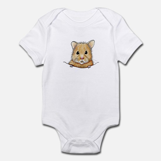 Pocket Hamster Infant Bodysuit