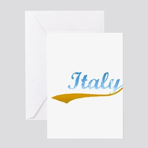 Beach Italy Greeting Card