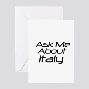 Ask about Italy Greeting Card