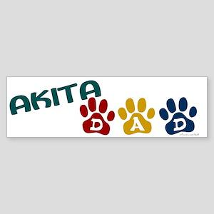 Akita Dad 1 Bumper Sticker