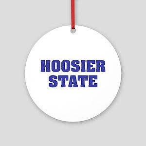 Indiana The Hoosier State Keepsake (Round)