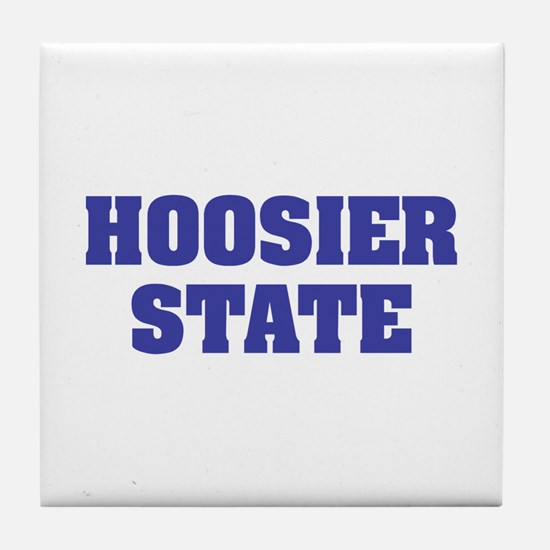Indiana The Hoosier State Tile Coaster