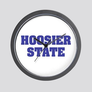 Indiana The Hoosier State Wall Clock