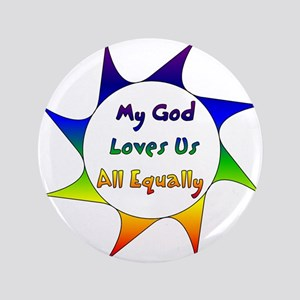 """Equal Love 3.5"""" Button"""