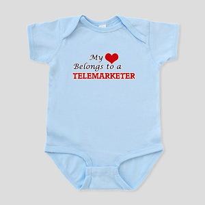 My heart belongs to a Telemarketer Body Suit