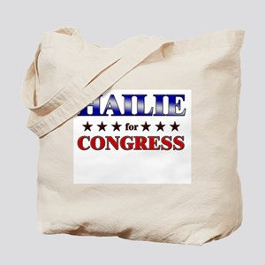 HAILIE for congress Tote Bag