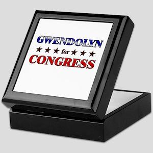 GWENDOLYN for congress Keepsake Box