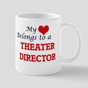 My heart belongs to a Theater Director Mugs
