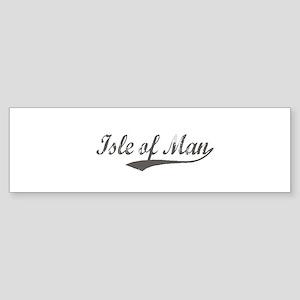 Isle of Man flanger Bumper Sticker