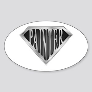 SuperPainter(metal) Oval Sticker