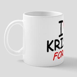 I Love Krista Forever - Mug