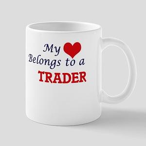 My heart belongs to a Trader Mugs
