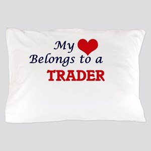 My heart belongs to a Trader Pillow Case