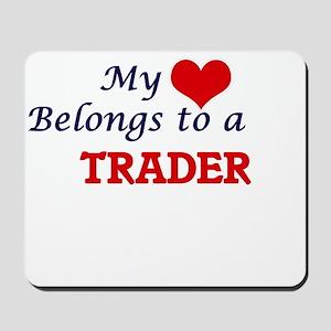 My heart belongs to a Trader Mousepad