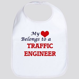 My heart belongs to a Traffic Engineer Bib