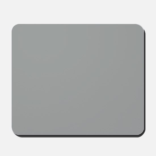 Heather Gray Solid Color Mousepad