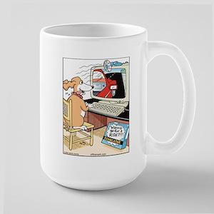 Dog Ride Simulator Large Mug