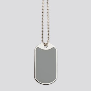 Heather Gray Solid Color Dog Tags