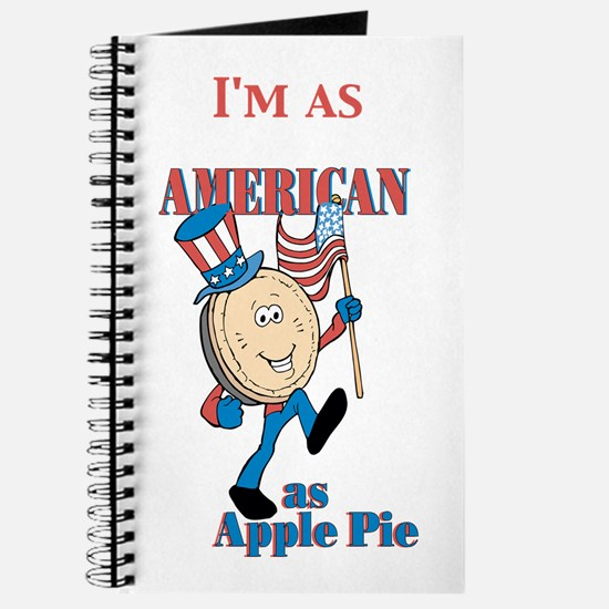 I'm As American As Apple Pie Journal