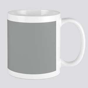 Heather Gray Solid Color Mugs