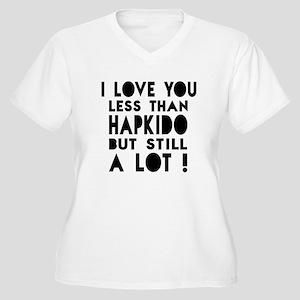 I Love You Less T Women's Plus Size V-Neck T-Shirt