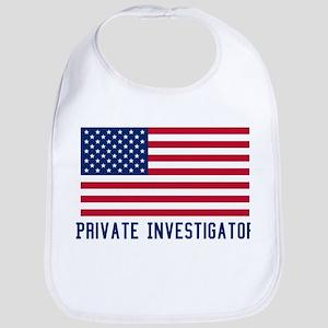 Ameircan Private Investigator Bib