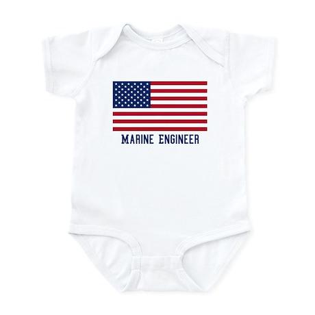 Ameircan Marine Engineer Infant Bodysuit