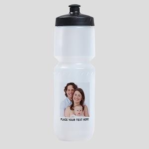 Customize Photo Text Message Sports Bottle