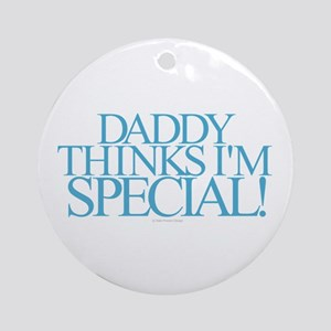 Daddy Special Round Ornament