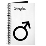 Male Single Sex Symbol Journal