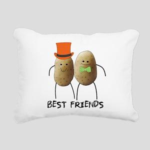best friend potato Rectangular Canvas Pillow