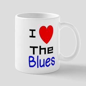 I LOVE The Blues Mugs