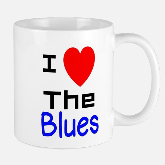 I LOVE The Blues Mugs