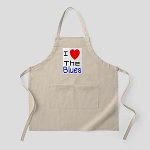 I LOVE The Blues Apron