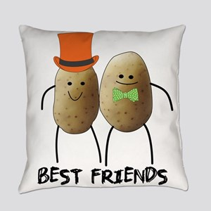 Best Friend Potato Everyday Pillow
