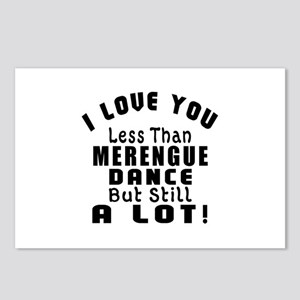 I Love You Less Than Mere Postcards (Package of 8)