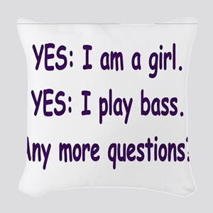Iamthebassplayer10c10png Woven Throw Pillow