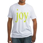 277.joy.. Fitted T-Shirt