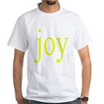 277.joy.. White T-Shirt